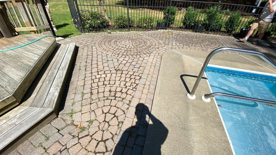 Replacing Outdated Pavers